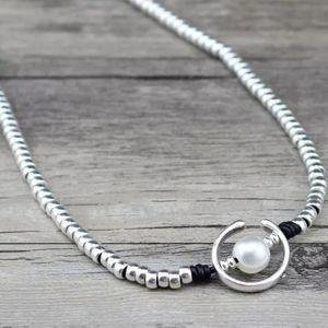 Oasis Pearl - Uno de 50 Style Necklace